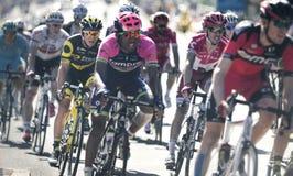 """环法自行车赛2016路线阶段17 :伯尔尼swi †""""Finhaut Emosson (swi) 免版税库存图片"""