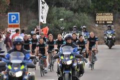 环法自行车赛2013年,天空 免版税库存照片