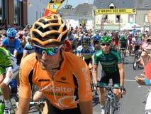 环法自行车赛2013年 库存照片