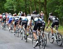环法自行车赛2014年 库存照片