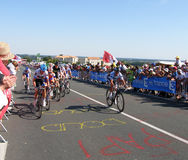 环法自行车赛2011年 免版税图库摄影