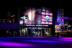 环球影业商店在奥兰多,佛罗里达 库存图片