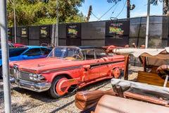 环球影业好莱坞公园,洛杉矶,美国 免版税图库摄影