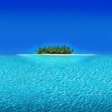 环礁度假胜地 免版税图库摄影