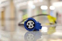 现代三只眼睛插座插口 免版税库存图片