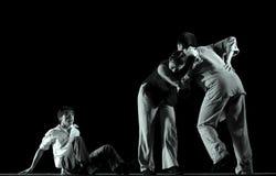 现代中国的舞蹈演员 免版税库存图片
