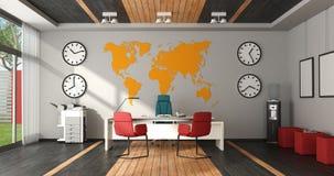 现代五颜六色的办公室 图库摄影