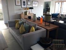 现代休息室区域风景 库存图片