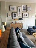 现代休息室区域 免版税库存照片