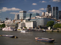 现代伦敦 库存图片