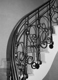 现代伪造的梯子 免版税库存照片