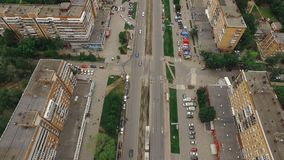 现代俄国城市翼果,世界杯的主人城市空中射击2018年 影视素材