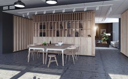现代公寓设计 库存照片
