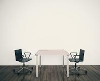 现代内部办公室 免版税图库摄影