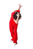 现代冷静舞蹈演员的人 库存图片