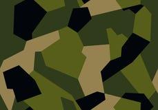 现代几何布料、汽车或者武器的样式纹理军事伪装 库存例证