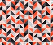 现代创造性的无缝的锋利&风格化三角马赛克几何样式设计 向量例证