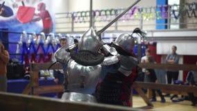 现代剑战斗 影视素材