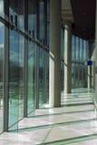 现代办公大楼区 免版税库存照片