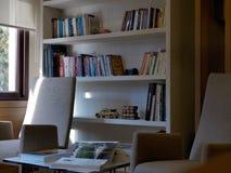 现代办公室视图在伊斯坦布尔,土耳其 2014年12月23日 库存照片