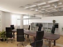 现代办公室 免版税库存照片