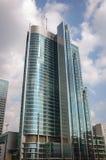 现代办公楼在华沙 免版税库存照片