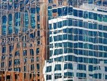 现代办公楼玻璃 库存图片