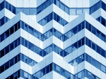 现代办公楼 免版税库存图片