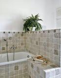 现代卫生间的详细资料 免版税库存照片