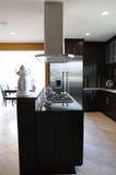 现代厨房 免版税库存照片