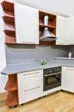 现代厨房 库存照片