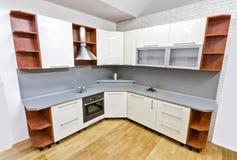 现代厨房 免版税库存图片