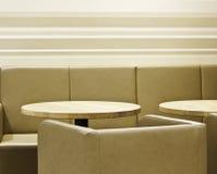 现代咖啡馆/餐馆 库存照片