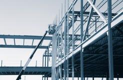 现代商业建筑的发展 免版税库存照片