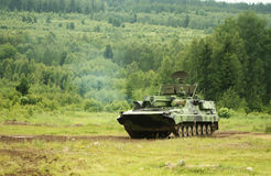 现代坦克 免版税库存图片