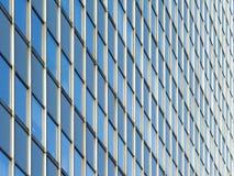 现代城市大厦门面 免版税图库摄影