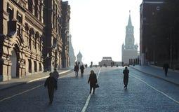 现代城市的横向 免版税图库摄影
