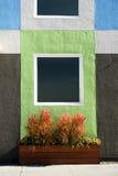 现代墙壁 免版税库存图片