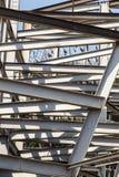 现代复合体的建筑 免版税库存照片