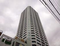 现代大厦在东京,日本 库存照片