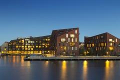 现代大厦在哥本哈根 库存照片
