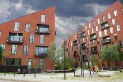 现代大厦在哥本哈根 图库摄影