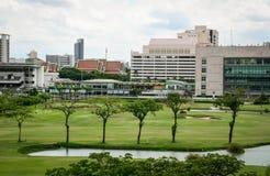 现代大厦在曼谷,泰国 免版税库存照片