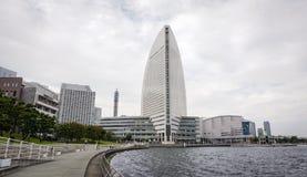 现代大厦在横滨,日本 库存照片