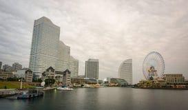 现代大厦在横滨,日本 免版税库存照片