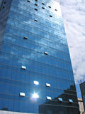 现代大厦的商业 免版税库存图片