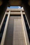 现代大厦的政府 免版税库存图片
