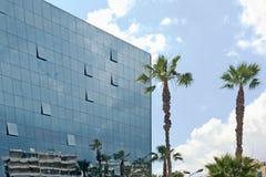现代大厦的玻璃 库存图片