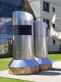 现代大厦的要素 免版税库存图片
