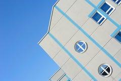 现代大厦的详细资料 库存照片